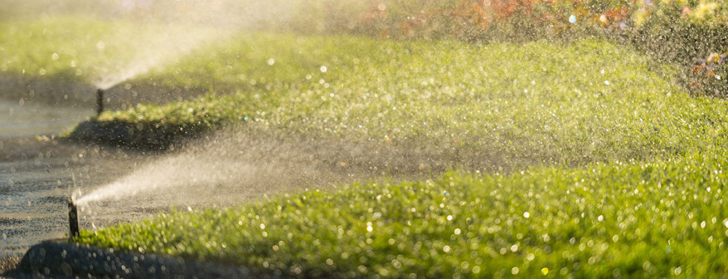 Lawn irrigation system sprinklers