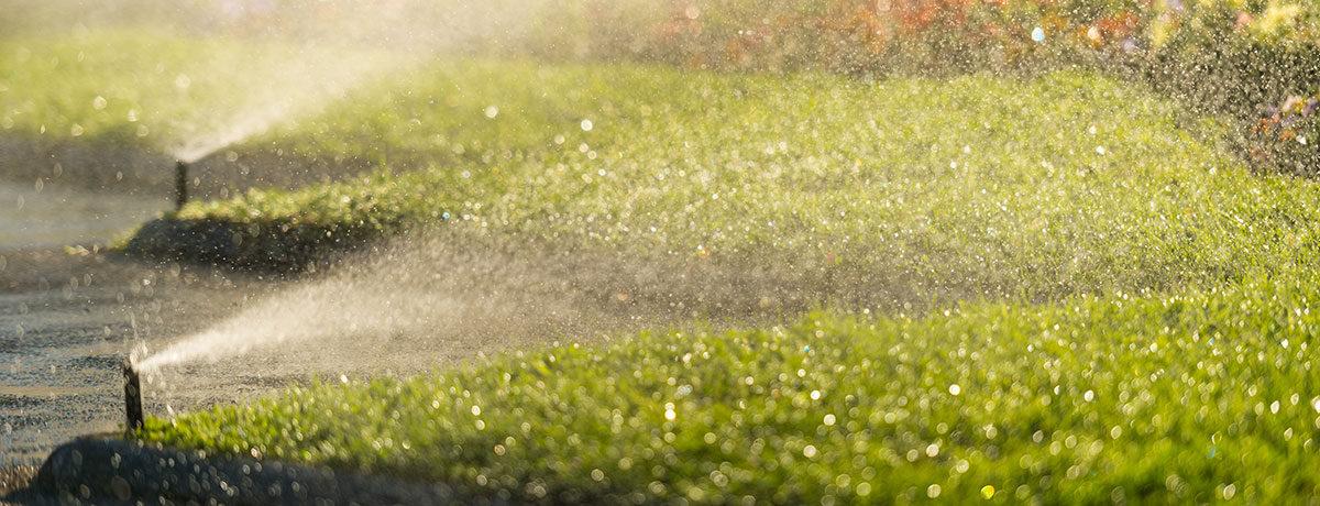 Lawn irrigation system sprinklers